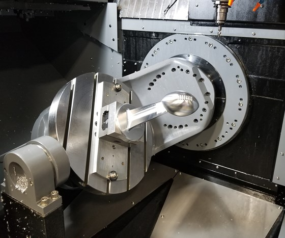 Five-Axis Focus at Hurco's 50th-Anniversary Event