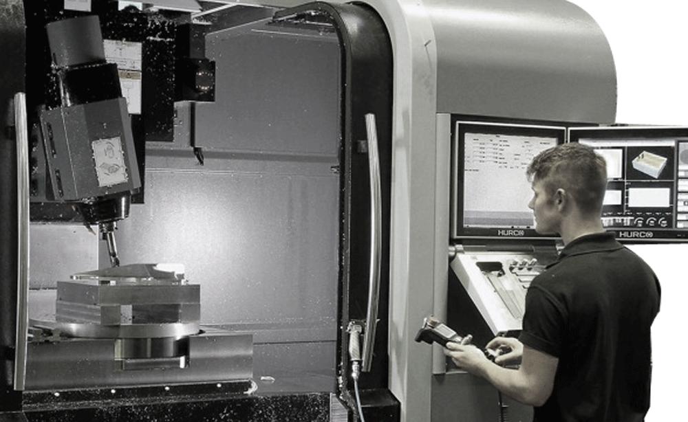 Hurco VMX42SRTi 5-Axis tackles complex aerospace jobs
